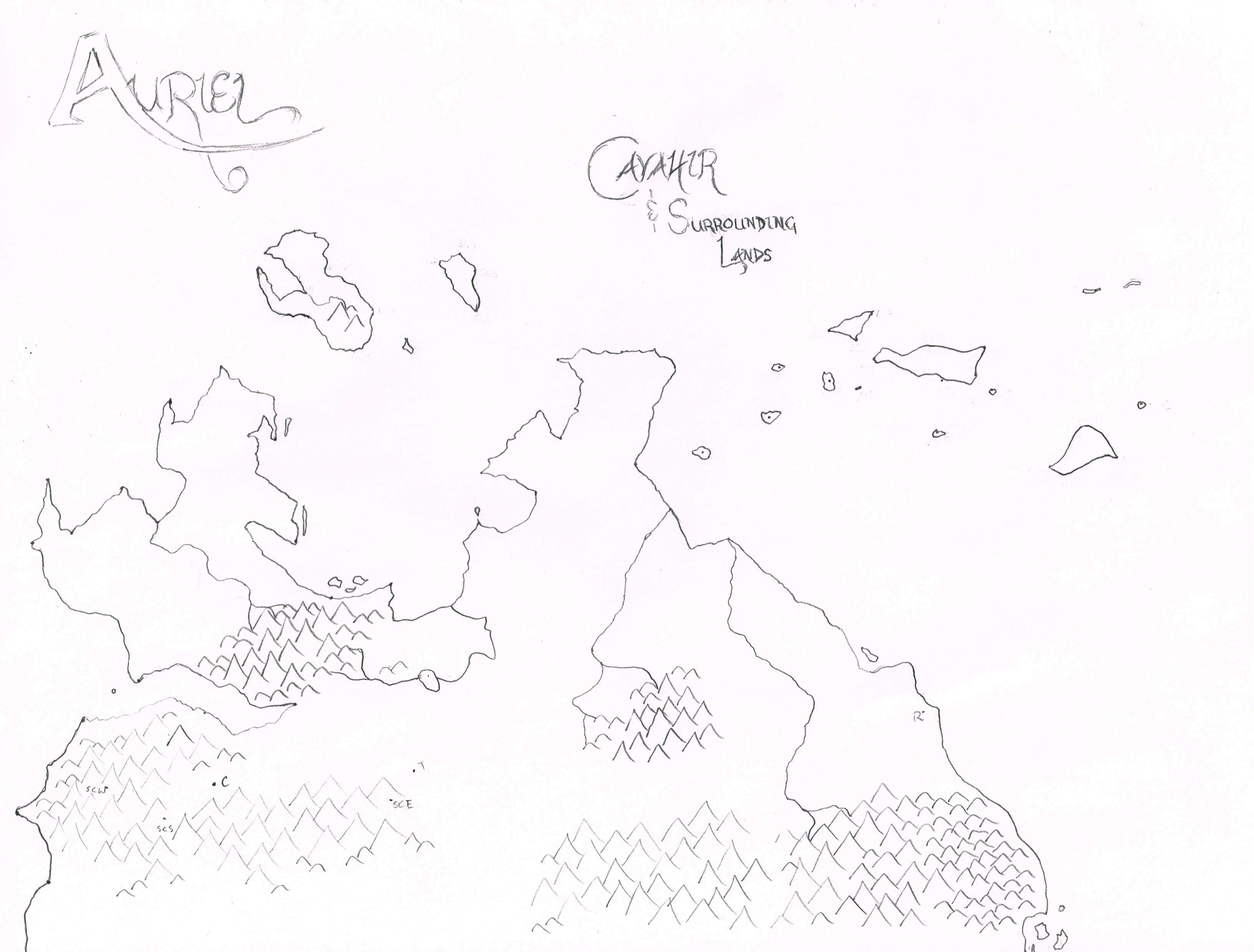 Mountain Outline